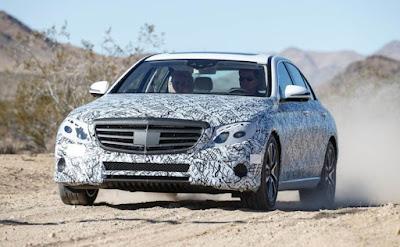 Mercedes-Benz E-Class spyshot image