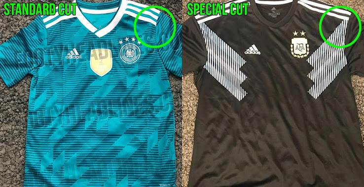 bd7b3a5e2abcc All other Adidas 2018 World Cup away jerseys com with the standard kit  style.