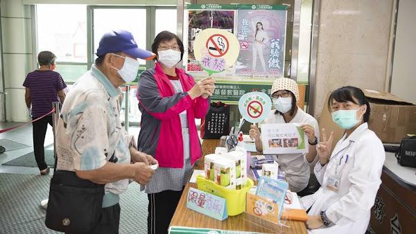 二基醫院中秋健康宣導活動 遠離菸檳及預防失智有撇步