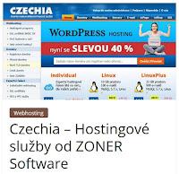 Czechia – Hostingové služby od ZONER Software - AzaŽurnál