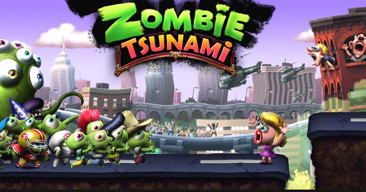 تحميل لعبة zombie tsunami مهكرة من ميديا فاير