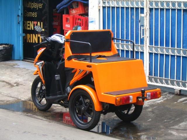 oracle modification concept motor roda tiga modifikasi