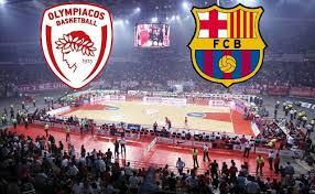 ΟΛΥΜΠΙΑΚΟΣ - ΜΠΑΡΤΣΕΛΟΝΑ  Olympiakos - Barcelona   live streaming