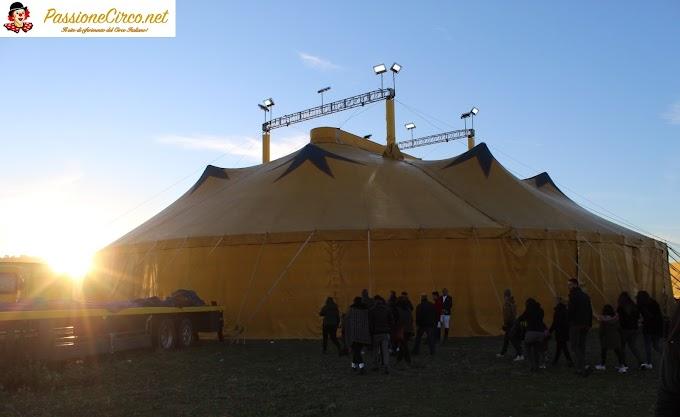 Le foto dello spettacolo del Circo Sandra Orfei di Equestre Vassallo a Licata (AG)