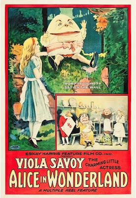 Póster Película Alicia en el país de las maravillas - 1915
