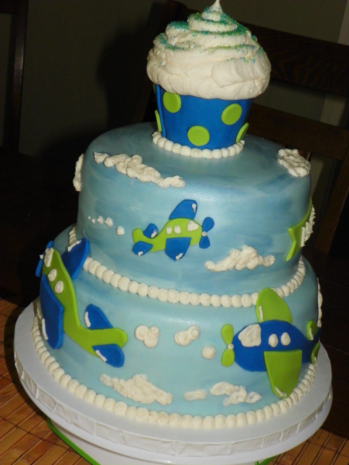 Plumeria Cake Studio Airplane Birthday Cake