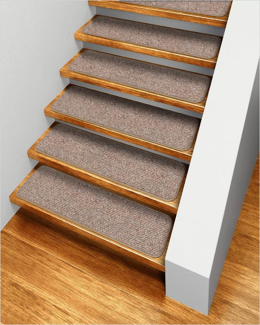 √√ Carpet Stair Treads Lowes Home Interior Exterior Decor   Carpet Stair Treads Lowes   Staircase   Edging   Oak Stair   Replacement   Rectangular Cord Treads