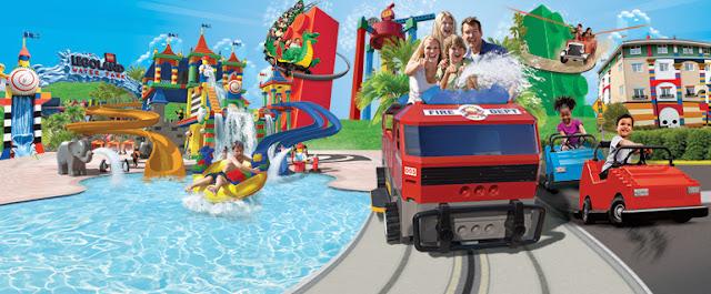 Passeio na Legoland com as crianças