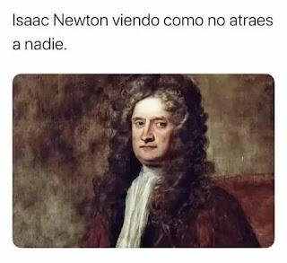 Cuadro de Isaac Newton