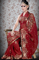 India Clothing Sari Wedding Saree
