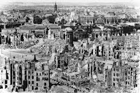 Image result for Allied aircraft began bombing the German city of Dresden.