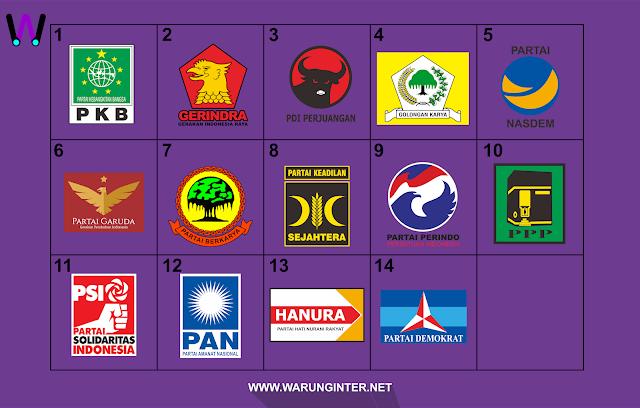 Download Logo Partai Pemilu 2019