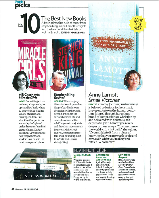People Magazine Picks Miracle Girls
