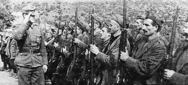 Οι συνεργάτες των Ναζί Τσάμηδες και ο φτωχός ελλαδικός λόγος
