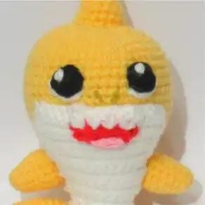 Baby Shark a Crochet