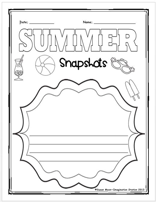 Imagination Station: Summer Review Packet