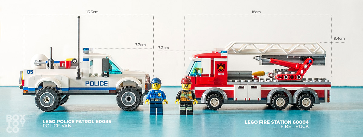 Lego City Fire Station 60004 Review Boxtoy
