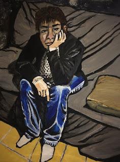 autoportrait de Karine Babel