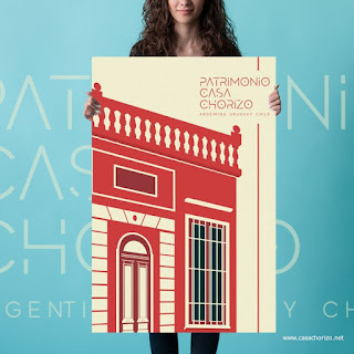 Poster Casa Chorizo