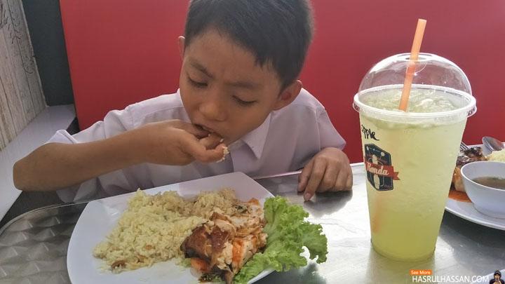 Nasi Ayam Sedap Makan Tengahari di Parit Buntar