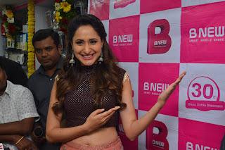 pragya jaiswal bnew mobile store launch 10