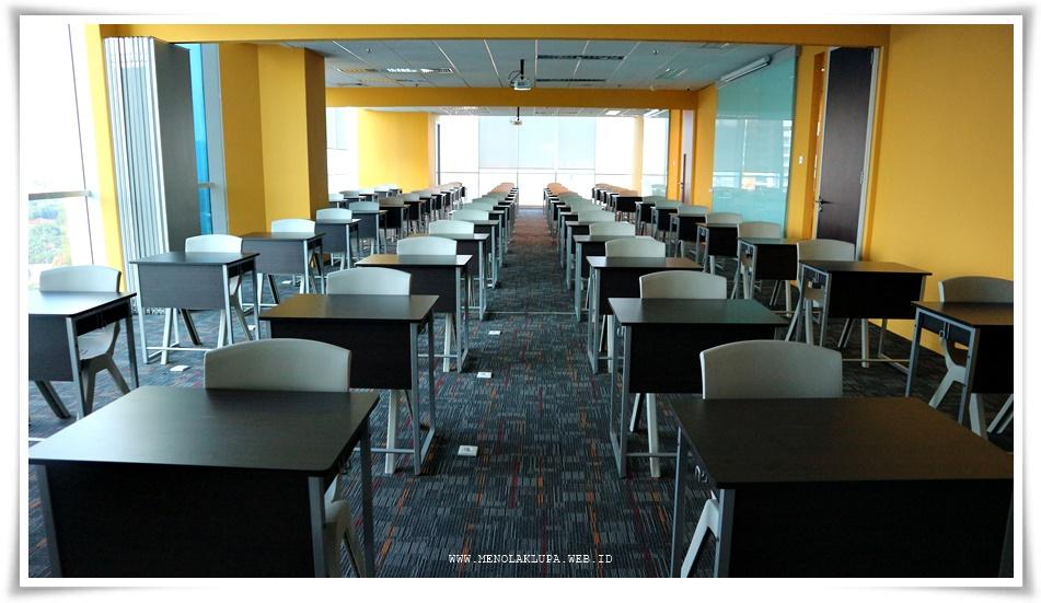 ruang tempat tes MUET Malaysia di KLIS Jakarta
