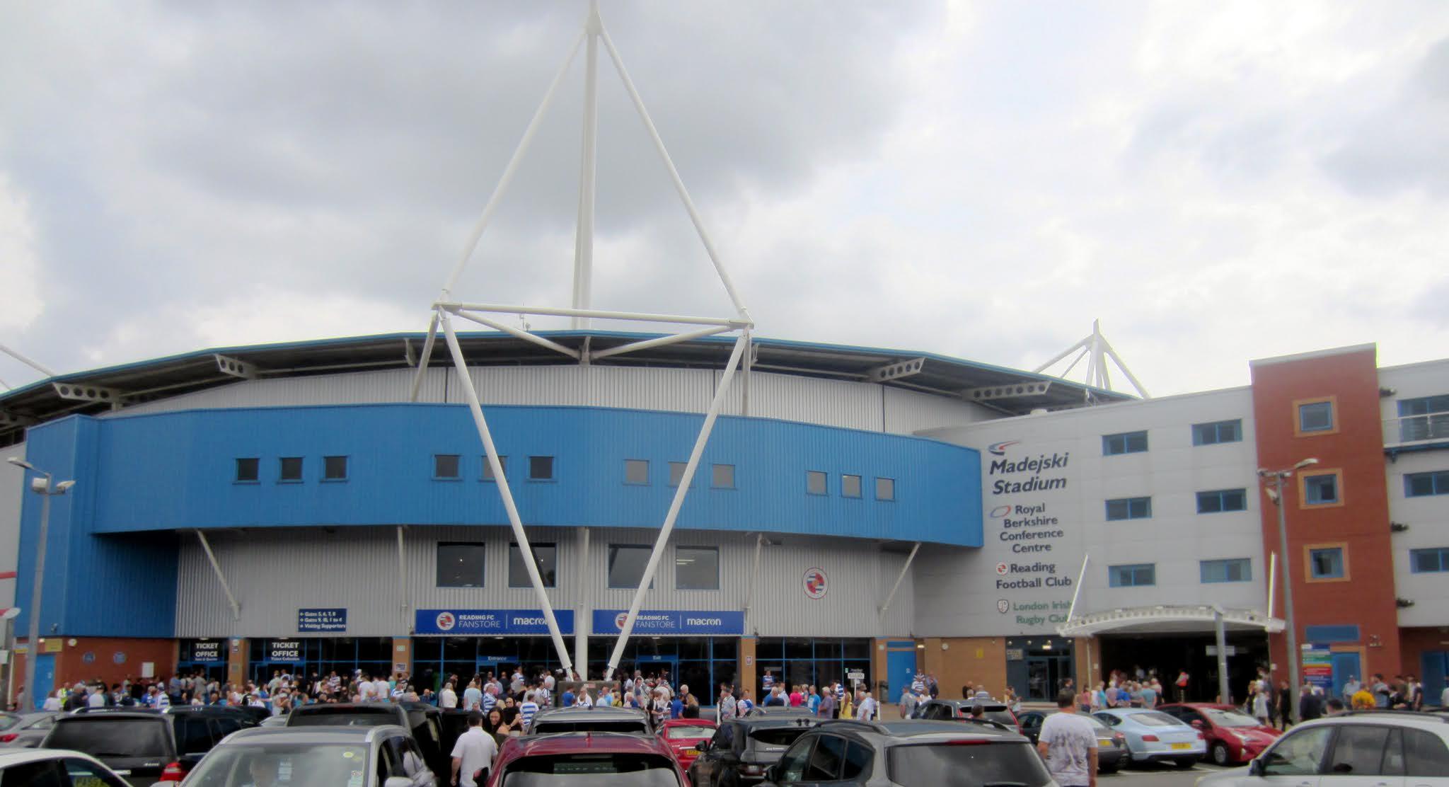 The Fanstore outside the Madejski Stadium