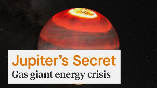 """Scienziati spaziali rivelano il segreto dietro la """"crisi energetica"""" di Giove"""