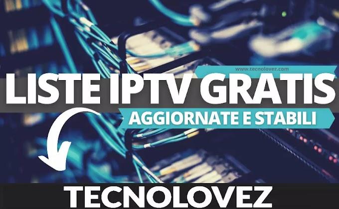 Liste IPTV Gratis 2021 - Canali TV m3u Che Si Aggiornano Automaticamente