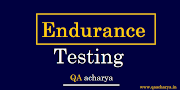 Endurance Testing With Example
