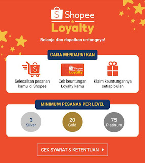Review Shopee Loyalty Silver/Gold/Platinum