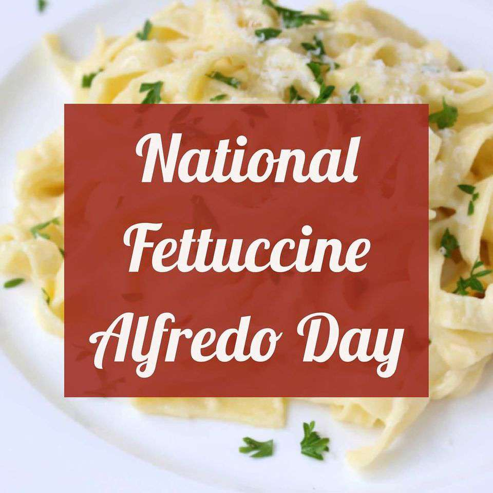 National Fettuccine Alfredo Day Wishes pics free download