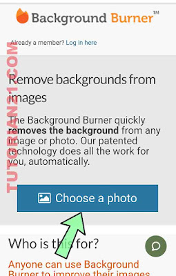 Cara menghapus background foto online