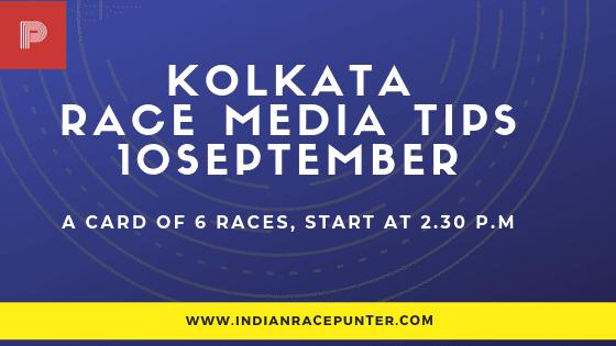 Kolkata Race Media Tips 10 September