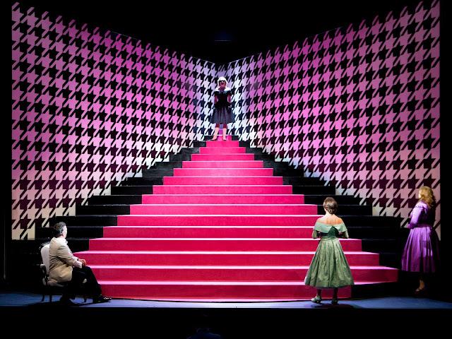 Rossini: La Cenerentola - Christian Senn, Heather Lowe, Carolina Lippo, Maria Ostroukhova - The Grange Festival (Photo Simon Anand