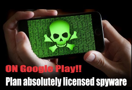 The most dangerous spyware ever made on | Google play