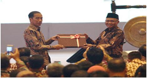 Presiden Jokowi: Penegakan Hukum Selamatkan Uang Negara Sebesar Rp 3,55 Triliun.