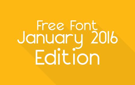 Download 20 Font Terbaru Edisi Januari 2016