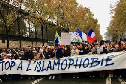 Ribuan Orang Unjuk Rasa Melawan Islamfobia di Paris