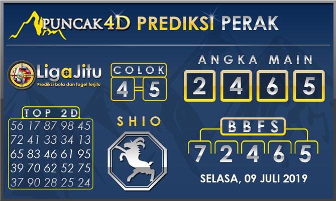 PREDIKSI TOGEL PERAK PUNCAK4D 09 JULI 2019