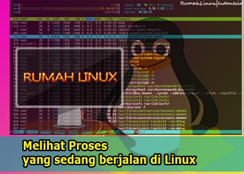 Melihat Proses yang sedang berjalan di Linux|cara Melihat Proses yang sedang berjalan di Linux|htop di linux| blog linux indonesia|rumah linux indonesia