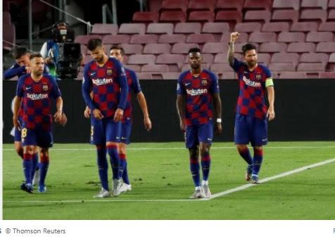 Barcelona confirms positive coronavirus test ahead of Champions League quarter-finals