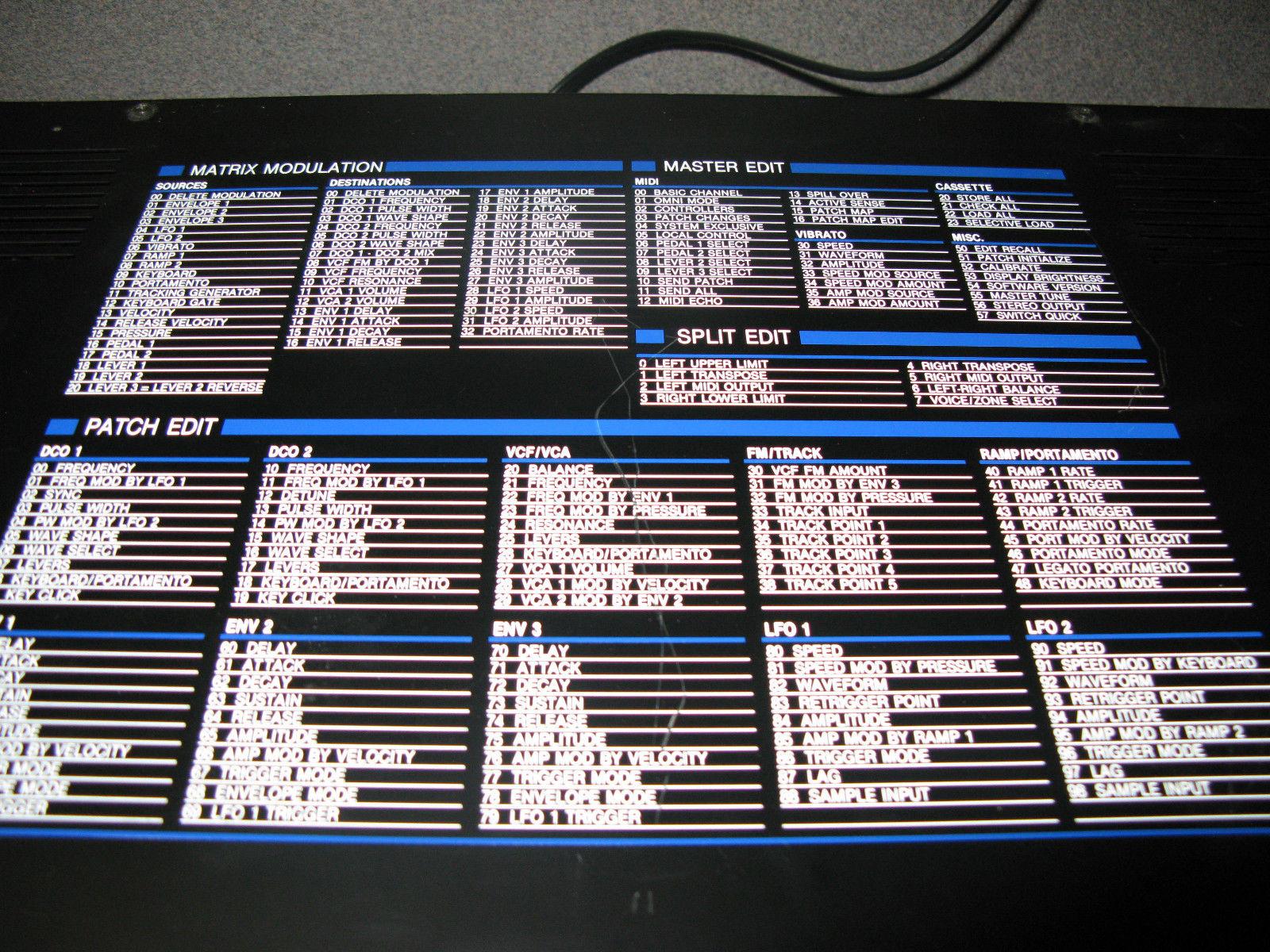 MATRIXSYNTH: Oberheim Matrix 6R Rack-mount Synthesizer