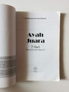 Ayah Juara: 7 Hari Menjadi Ayah Qur'ani