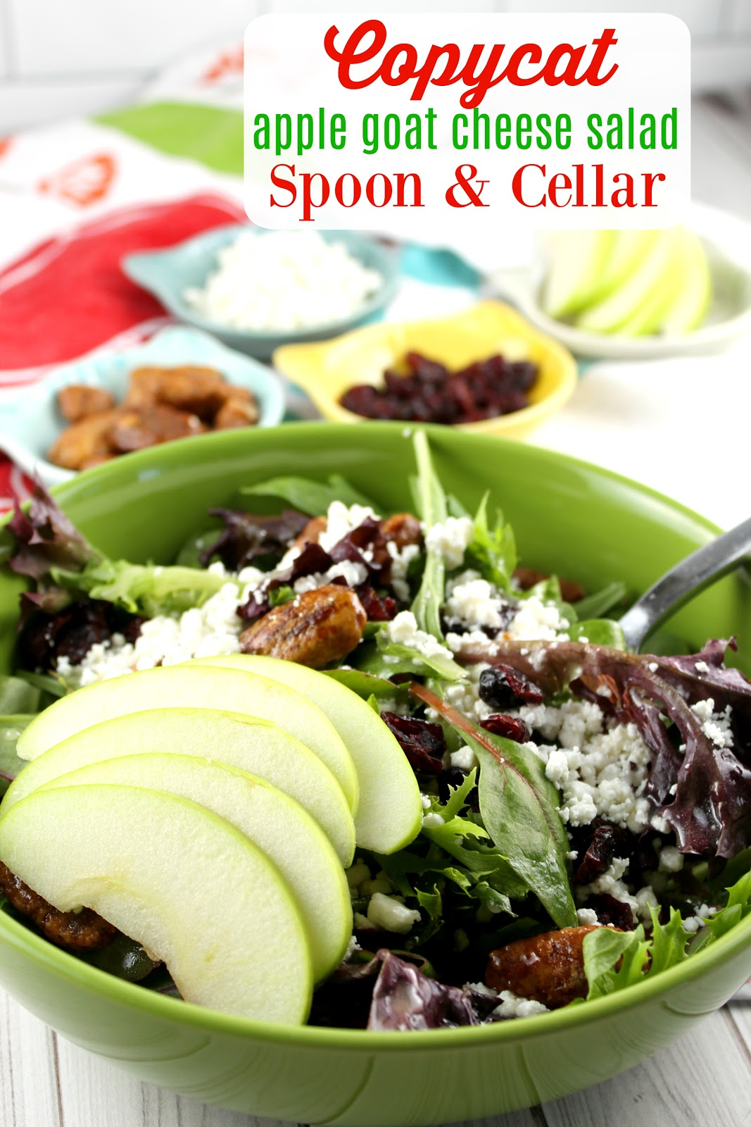 apple goat cheese salad recipe