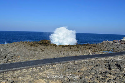 Pesona ombak Water Blow Nusa Dua - Backpacker Manyar