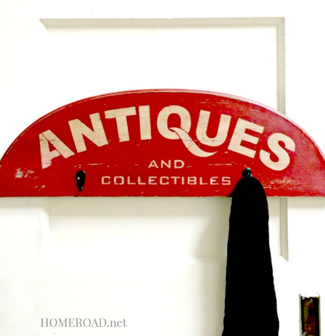 Vintage Antiques and Collectible sign DIY