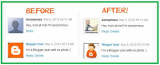 Change Anonymous Avatar in Blogger Comments