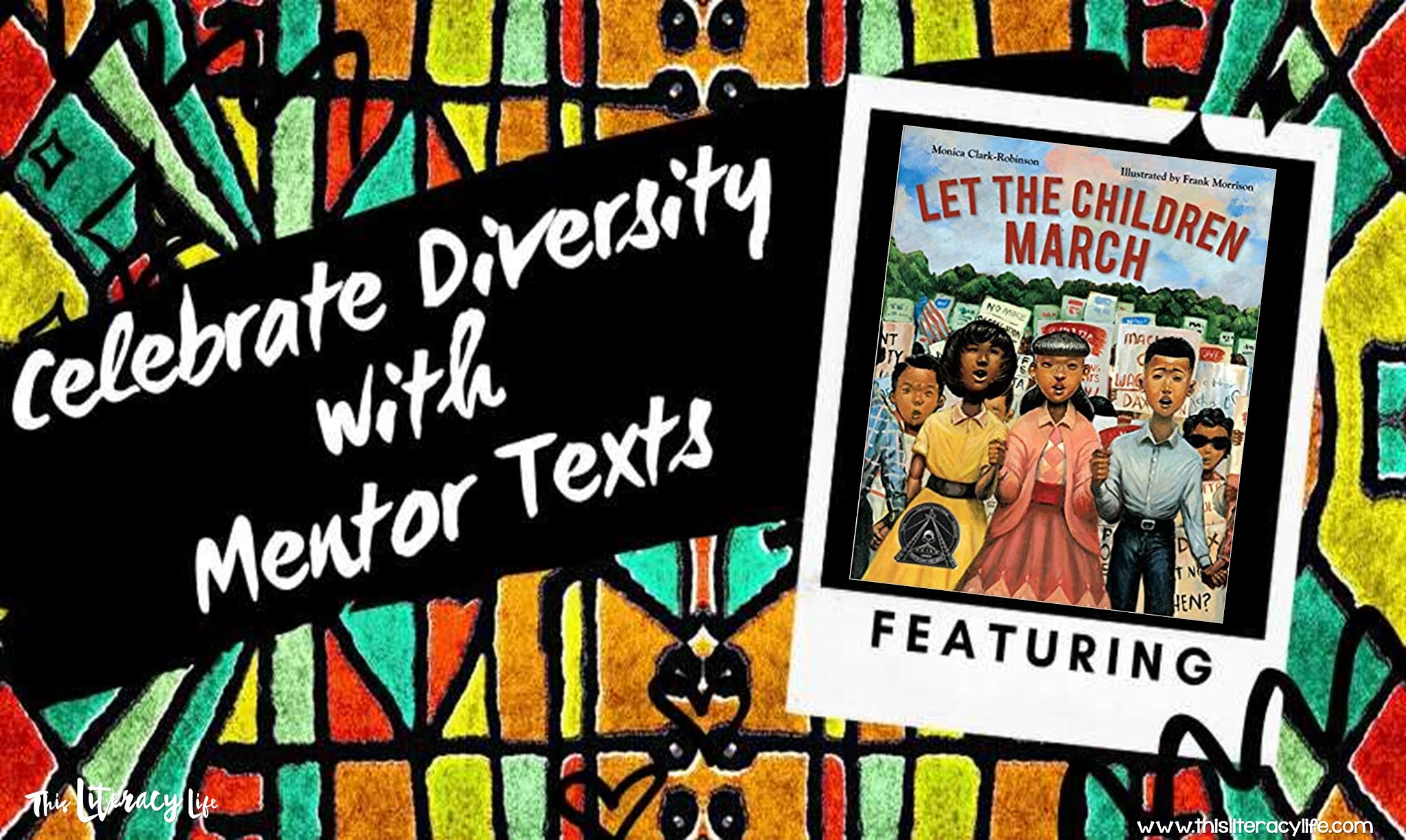 Helping readers summarize and see different perspectives is simple with the book Let the Children March.