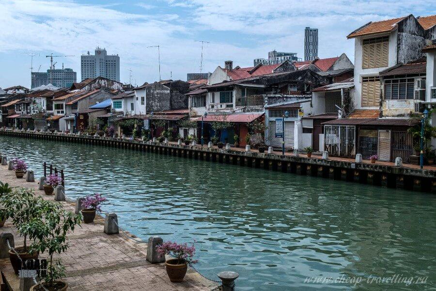 Река в Куала-Лумпур
